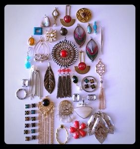 Charms & findings jewelry lot